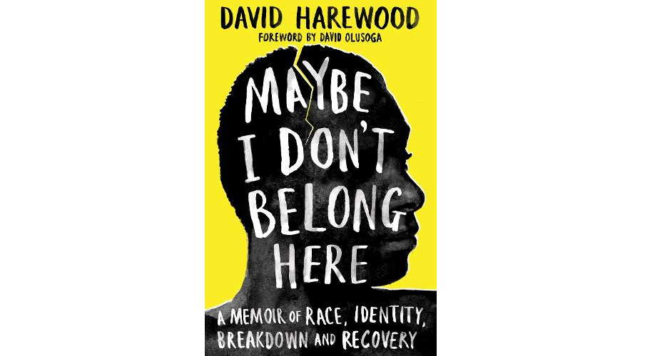 A picture of the front cover of Maybe I Don't Belong Here